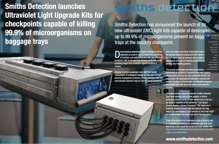 An example of an article created for our client Smiths Detection.