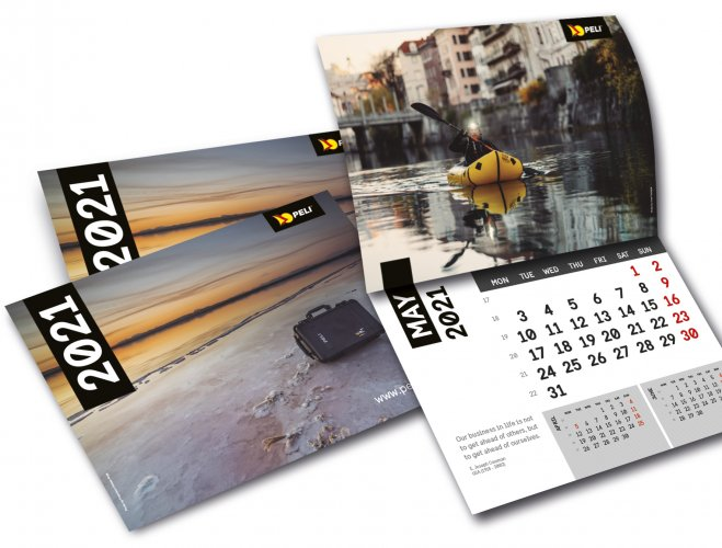 PELI releases its NEW 2021 Wall Calendar