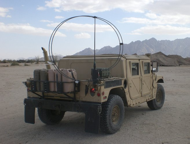 Military Vehicle Antennas