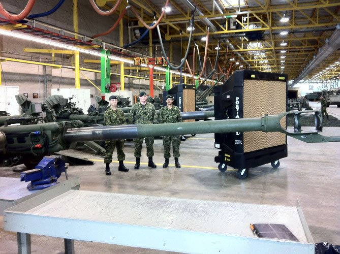 Military Cooling Systems - Canadian Military