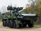 Czech Army Pandur II 8x8 AFV powered by the ISLe Diesel Engine