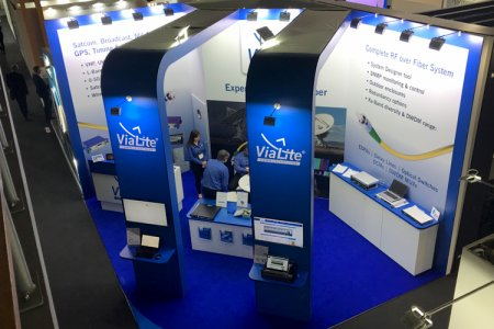 Visitors Flock to ViaLite Stand at IBC
