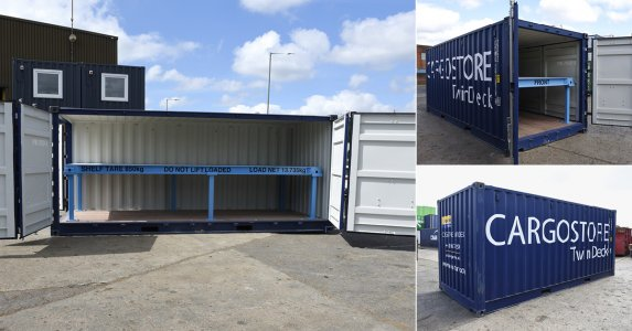 Cargostore Launch TwinDeck Unit to Stability & Aid Range