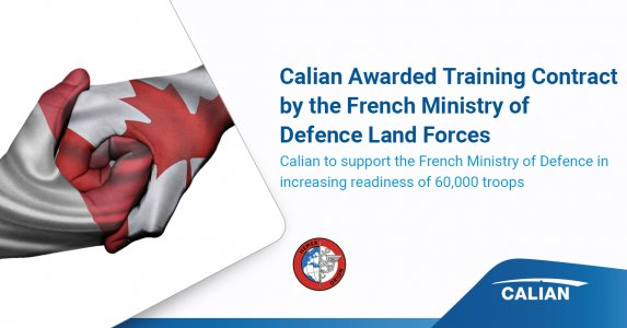Calian Awarded Training Contract by the French Ministry of Defence Land Forces