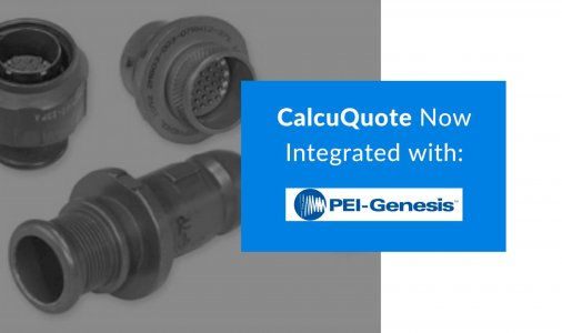 CalcuQuote Now Integrated with PEI-Genesis