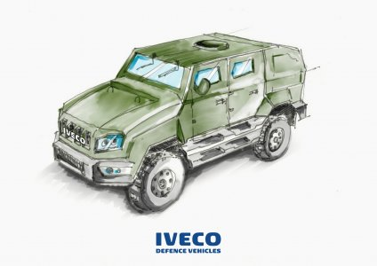 "Iveco Defence Vehicles signs contract to deliver an initial 918 medium multirole protected vehicles ""12kN"" to the Dutch Armed Forces"