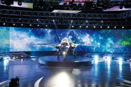 Ground-breaking Oxley lights featured during unveiling of the new KF-X Fighter in South Korea