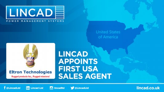Lincad appoints Eltron Technologies as North American  sales agent