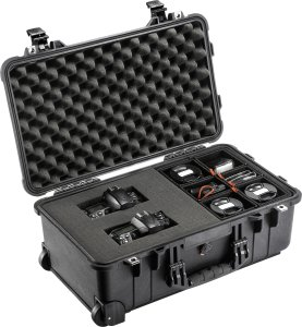 Organise your equipment more efficiently than ever with the new Peli™ Hybrid Cases