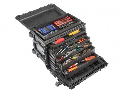 PELI releases its NEW Mobile 0450 Tool Chest GEN 2 with Robust Drawer System