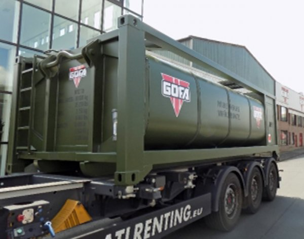 GOFA launches reduced weight water transport solution at Eurosatory