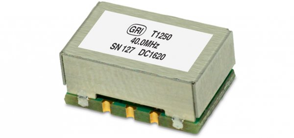 Greenray's new T1250 TCXO, available from 10 to 50 MHz, offers tight temperature stability in a compact, 9 x 14mm SMT package.