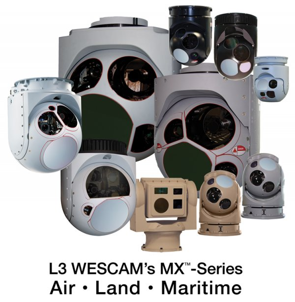 L3 Delivers Its 4,000th MXTM-Series Electro-Optical/Infrared Turret