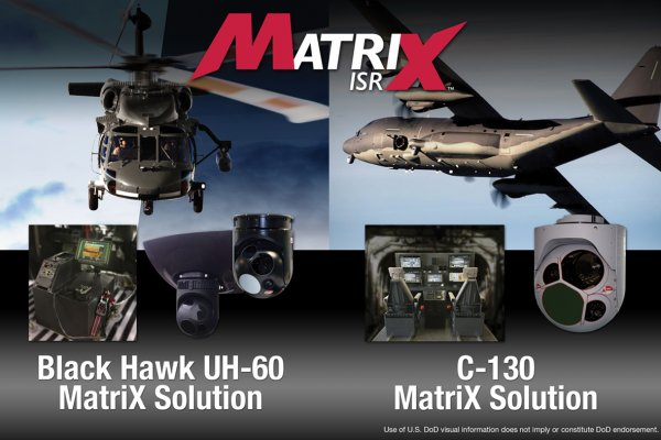 L3 WESCAM Launches MatriXTM ISR System Solutions Kits for Fixed- and Rotary-Wing Airborne Platforms