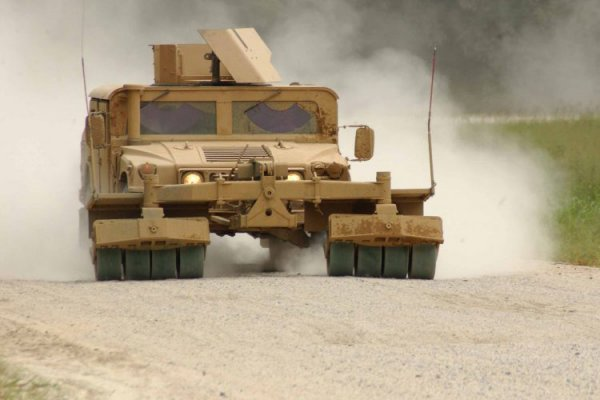 Pearson Engineering Counter-IED rollers destined for Afghanistan