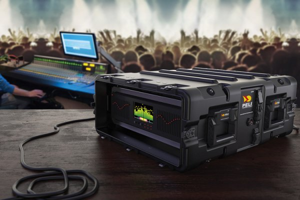 Peli presents at IBC Show its Range of Rack Cases for the Broadcast Industry