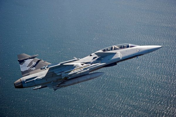 Saab Launches Gripen E Fighter Jet