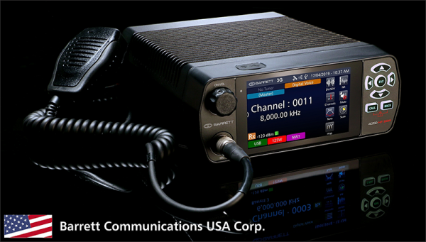 Barrett Communications USA Corp deliver their first order of US manufactured Barrett 4050 HF SDR transceivers