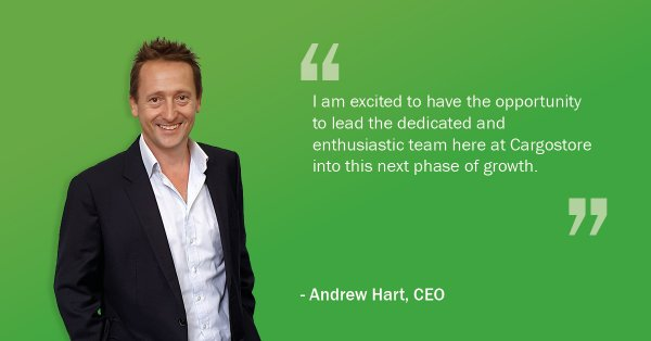 Cargostore Appoints Andrew Hart as New CEO