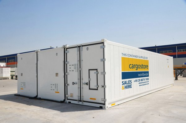Mammoth Cold Storage Solution, the BlizzardStore is Added to Cargostore's Growing Refrigerated Container Range.