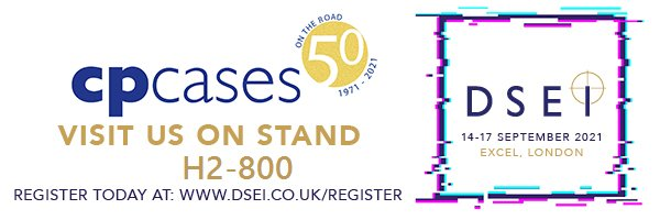 We are back with a bang at DSEI