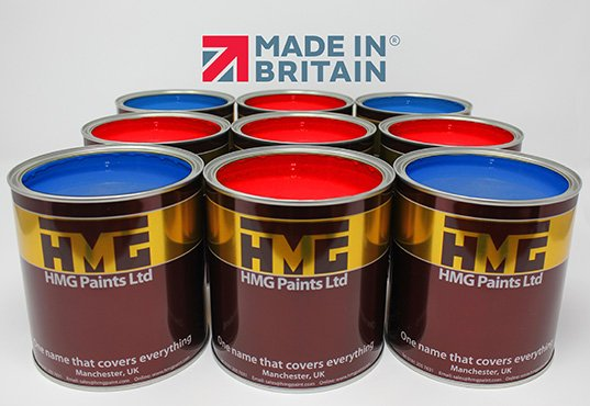 HMG Paints gain Made in Britain Accreditation