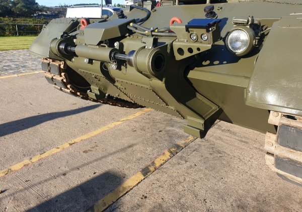 Pearson Engineering unveils SLICE - providing Main Battle Tanks with enhanced 'plug & play capability'.