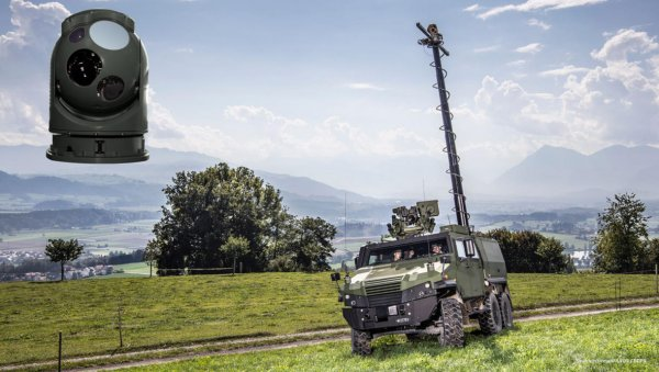 SWISS ARMED FORCES TO RECEIVE L3HARRIS TECHNOLOGIES WESCAM MX™-RSTA EO/IR LAND SIGHTS