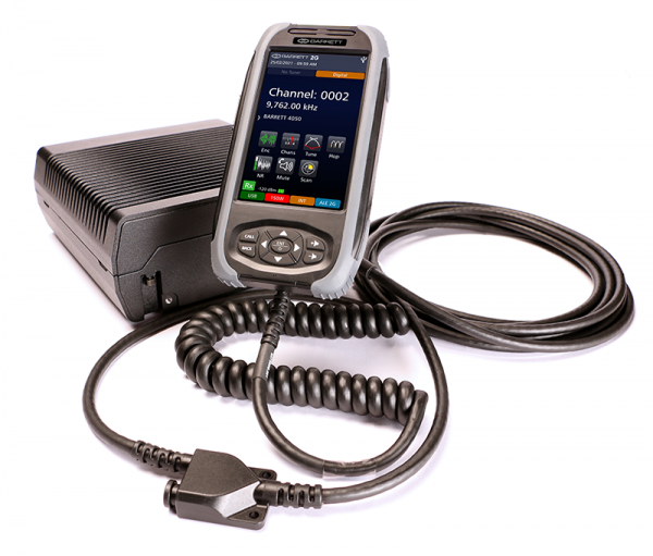 Barrett Communications is pleased to announce the release of the 4050 Control Handset, a further enhancement to the versatility of the Barrett 4050 HF SDR Transceiver.