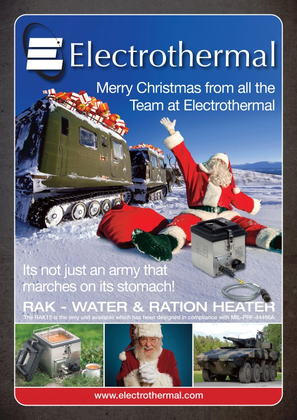 A Christmas Advert Designed For Electrothermal