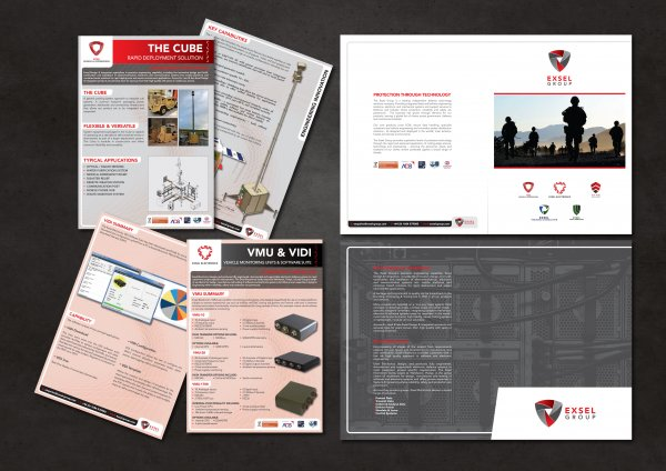 DDA create stand graphics and marketing material for The Exsel Group exhibition