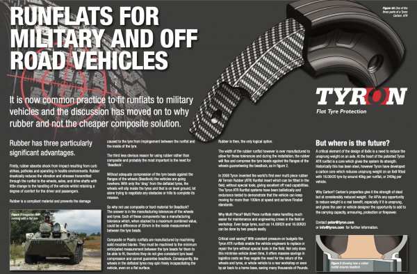 Short article created for Tyron RunFlat Ltd