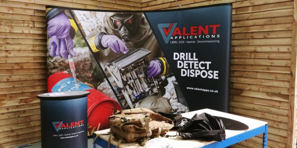 Valent Applications - Exhibit at DSEI with help from DDA